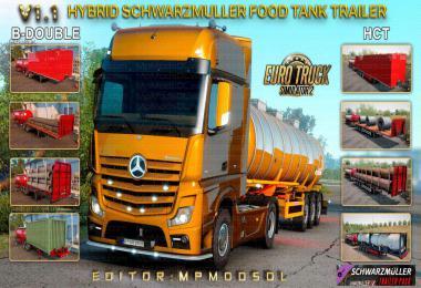 Hybrid Schwarzmuller Food Tank Trailer Mod v1.1