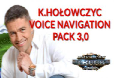 K.Holowczyc Voice Navigation Pack v3.0