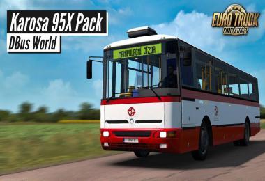 Karosa 95x Pack v1.0.5.39 1.39.x