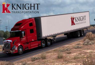 Knight Trans Volvo VNL Metallic + Trailer Skin 1.39