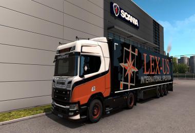 LEX-US Logistik Skin Combo v1.0