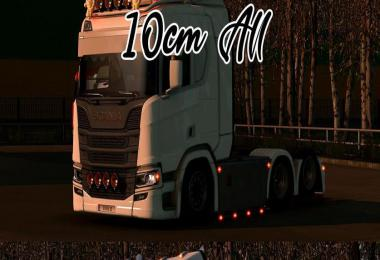 Lowered chassis for Scania PGRS (10cm) 1.39