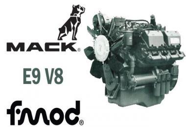 Mack E9 V8 sound 1.39
