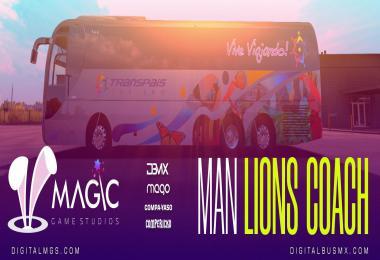 MAN LIONS COACH LITE v1.5 [ATS] [ETS2] 1.39.x