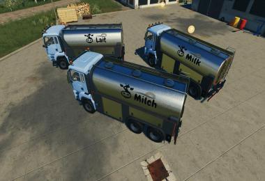 MAN TGS Milk Truck v1.0.0.0