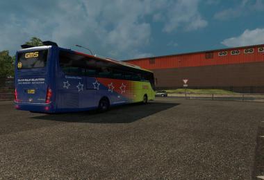 Mod bus ETS2 indonesia Laksana Nucleus ETS2 v1.25