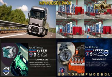 MpModsDL Pack For ETS2 Single-Multiplayer 1.39