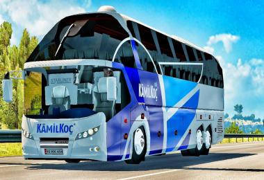 Neoplan Starliner Bus Mod ETS2 1.39