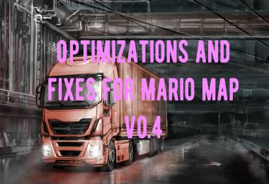 Optimization and fixes for Mario map v0.4