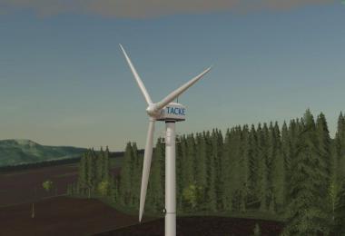 Platzierbare Windkraftanlage TW 80 v1.0