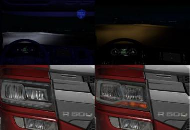 Scania 2016 Realistic Headlights v1.1