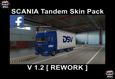 Scania S Krone Tandem BIG Pack [Rework] v1.2