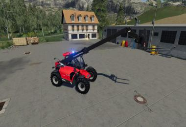 Telescopic loader - fire department Kassel v1.2