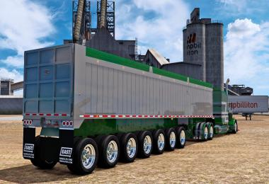 The East 7-Axle End Dump 1.39