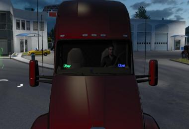 Uber LED Sign for ATS v1.0