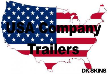 USA Company Trailer Pack v1.0 1.39.x