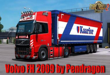 Volvo FH 2009 Classic v22.20 by Pendragon 1.39
