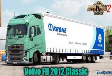 Volvo FH 2012 Classic v27.30 by Pendragon 1.39