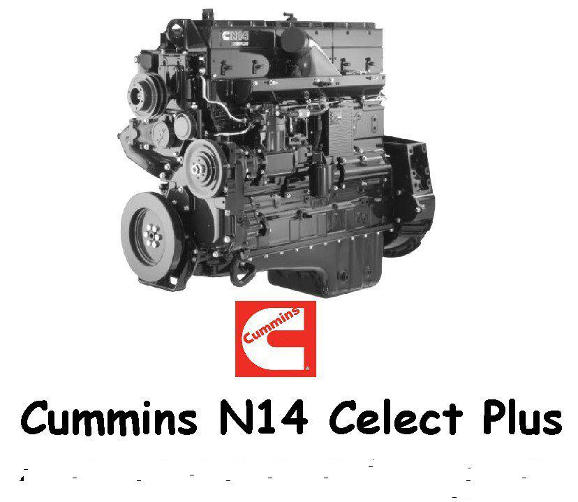 Cummins N14 Celect Plus engine pack v1.0