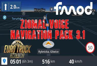 Ziomal Voice  Navigation Pack v3.1