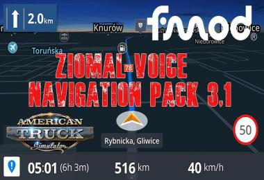 Ziomal Voice  Navigation Pack v3.1