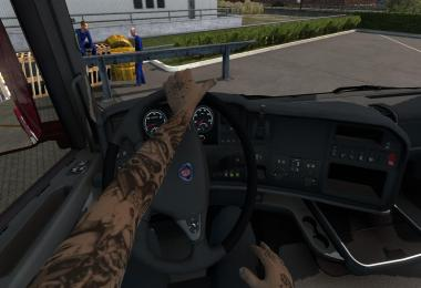 Animated Hands for Driver 1.39.x