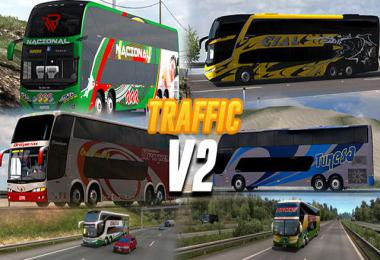 [ATS] Busses in Traffic v2.0 by Carne Molida 1.40
