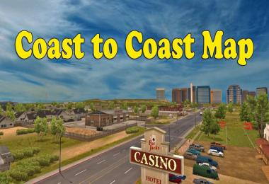[ATS] Coast to Coast Map v2.11.12 by Mantrid 1.40