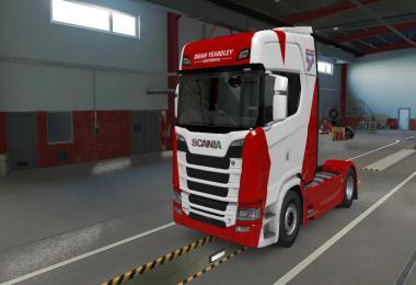 Brian Yeardley Truck & Trailer Skins v1.0