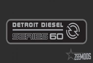 Detroit Diesel 60 Series Sound & Engine Pack v2.1