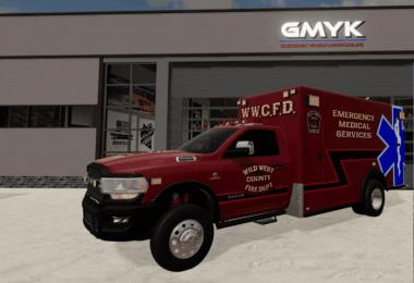 Dodge Ram 3500 Ambulance v1.0.0.0