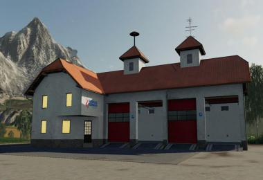 Fire station placeable with siren v1.0.0.0