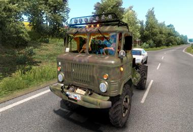 GAZ 66-12 - with a winch 1985g 1.39