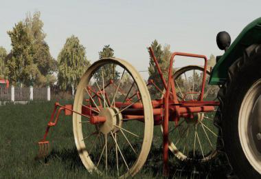 Horse Tractor Tedder v1.0.0.0