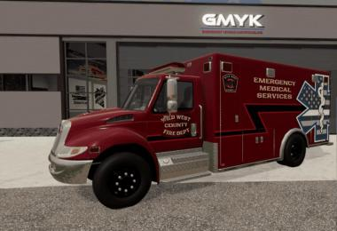 IH Durastar Ambulance v1.0.0.0
