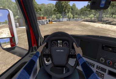 Interior Driver Mod [ANIMATED HANDS] ATS 1.40