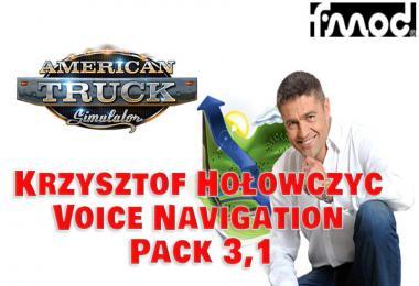 Krzysztof Holowczyc Voice Navigation Pack ATS v3.1