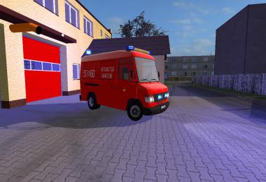 Mercedes Benz Vario Ratownictwo Chemiczne v2.0