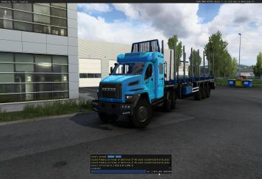 Offroad chassis for standard trailers v1.3