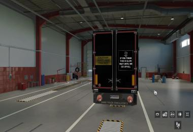 Rear Banners for Trailers 1.39
