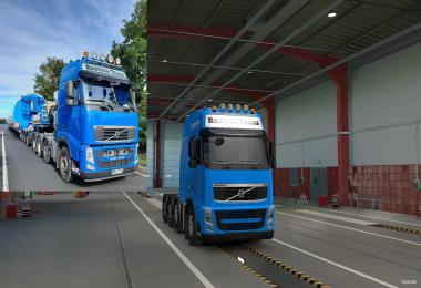 Rostock Trans Skin for Schumi's Volvo FH&FH16 2009 Reworked 1.39