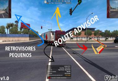 Route Advisor and Retrovisors v1.0