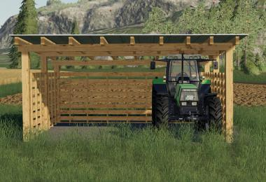 Wooden Sheds Pack v1.0.0.0