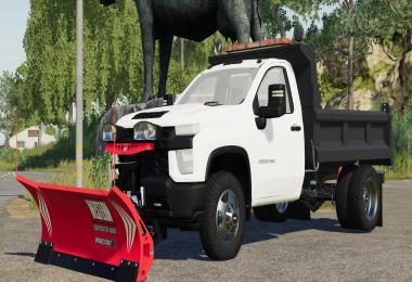 2020 Chevy 3500HD Single Cab Dump Truck v1.0