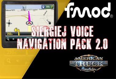 Siergiej Voice Navigation Pack v2.0