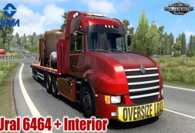 [ATS] Ural 6464 + Interior v1.3 1.40.x