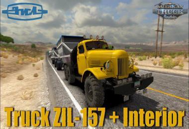 [ATS] ZiL-157 Truck + Interior v1.5 1.40.x