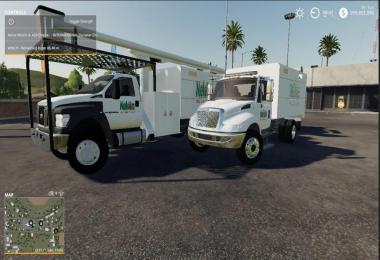 Bucket truck chip truck nelson tree service v1.0.0.0