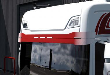 Painted Stock Sunsield for Scania Next-Gen v1.0