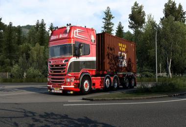 Scania v8 sound mod v11.5